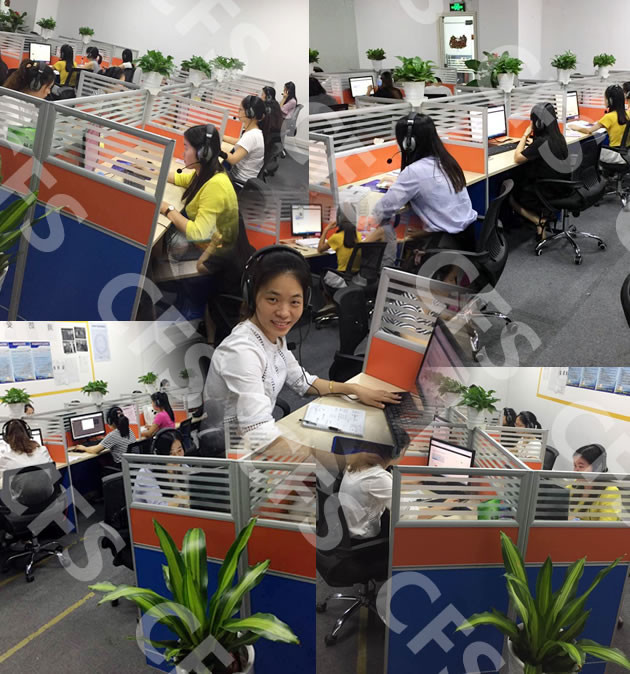China Call centre